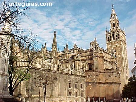 Giralda sevilla for Exterior catedral de sevilla